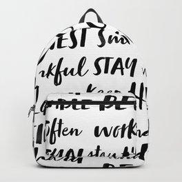 My Rules Backpack