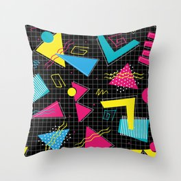 Fashion Patterns Chesney's No1 Faan Throw Pillow
