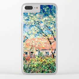 Springtime at Giverny Clear iPhone Case