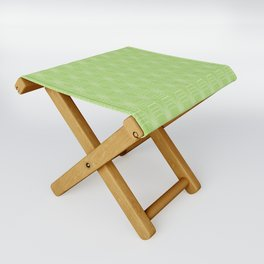 hopscotch-hex bright green Folding Stool