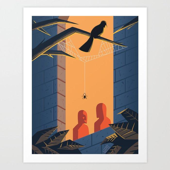 The Shadows - WORDLESS Art Print