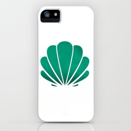 Mermaid's seashell iPhone Case