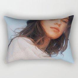 clairo album Rectangular Pillow