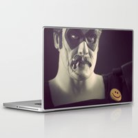 watchmen Laptop & iPad Skins featuring I'm No Joke by Fanboy30
