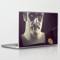 watchmen Laptop & iPad Skins featuring I'm No Joke by Fanboy30
