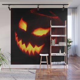 Halloween Pumpkin Wall Mural