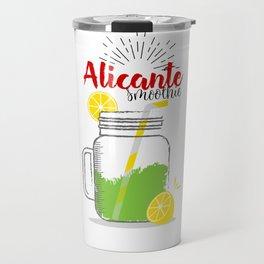Alicante: Summer, sun, sea & smoothies Travel Mug