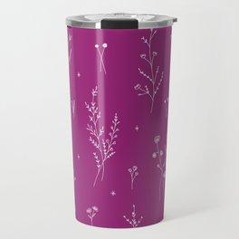 Magic Wine Wildflowers Travel Mug