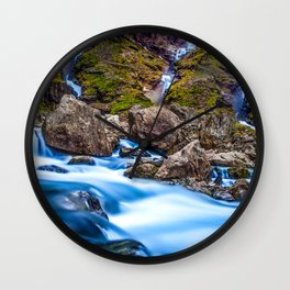 Nature Fortune Wall Clock