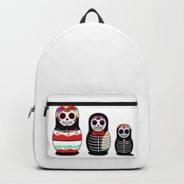 Halloween Russian dolls Backpack