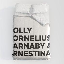 Hello Dolly (w) Comforters