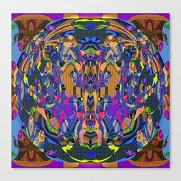 Psychedelic Essentials Trip Print 1 Canvas Print