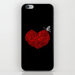 A Butterfly to be, a Rose to blossom... iPhone Skin
