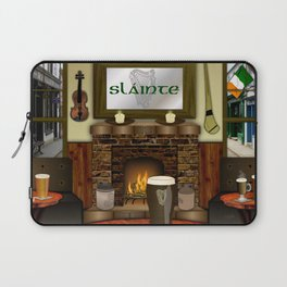Irish Pub Laptop Sleeve