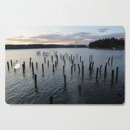 Narrows Bridge Sunset Cutting Board