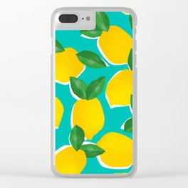 Lemons for daysss Clear iPhone Case
