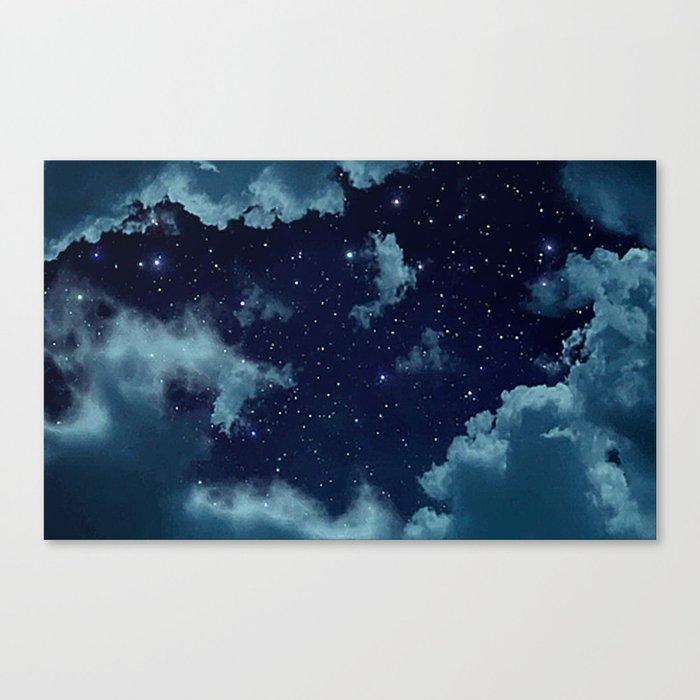 Night Sky Leinwanddruck