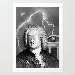 Bach To The Future Art Print