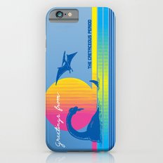 Greetings From The Cretaceous Period iPhone 6s Slim Case