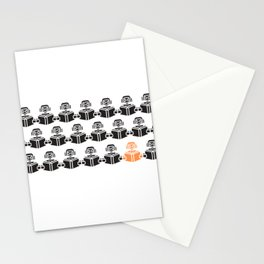 Machine Learning robots Stationery Cards