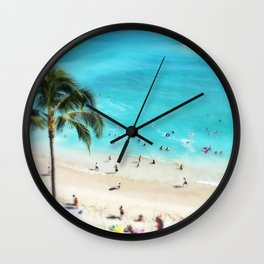 My Waikiki Wall Clock