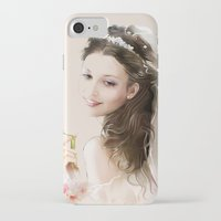 bride iPhone & iPod Cases featuring bride by tatiana-teni