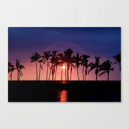 Waikoloa Beach Sunset... Canvas Print