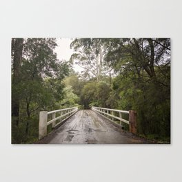 Crossing the Yarra Canvas Print