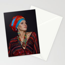 African style Stationery Cards