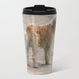 snow dog Travel Mug