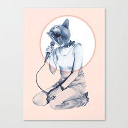 MENAGERIE - CAT Canvas Print