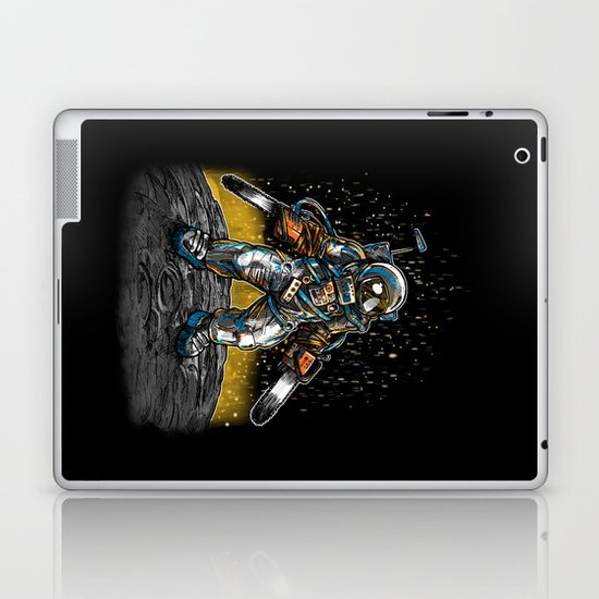 Texas Chainsaw Astronaut Laptop & iPad Skin