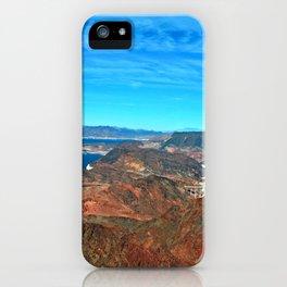 Hoover Dam Lake Mead Arizona Nevada America iPhone Case
