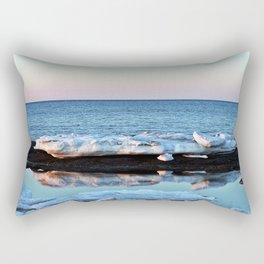 Ice Reflected Rectangular Pillow