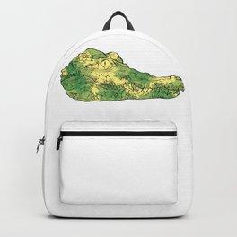 Crocodile Head Backpack