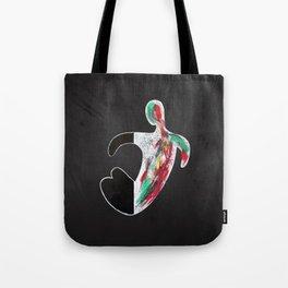 (Don't) Paint it Black Tote Bag