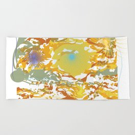 The Sun Beach Towel
