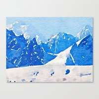 alaska Canvas Prints featuring Alaska by Acacia Alaska