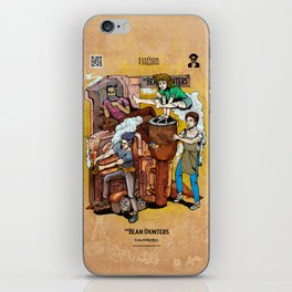 The Fantastic Craft Coffee Contraption Suite - The Bean Counters iPhone Skin