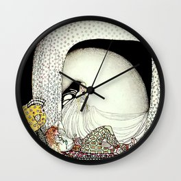 """Kay Nielsen Illustration from """"East of the Sun"""" Wall Clock"""
