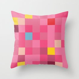 Princess Peach Throw Pillow