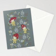 Melancholy Mushrooms Stationery Cards