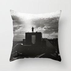 Nothing between me Throw Pillow