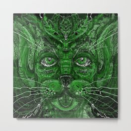 Green Manling Metal Print