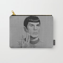 Spock Portrait Star Trek Carry-All Pouch