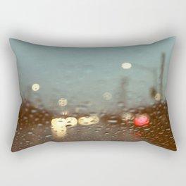 Blue Monday Rectangular Pillow