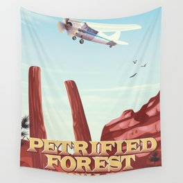 petrified forest national park Wall Tapestry