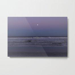 Ocean Moonrise Metal Print