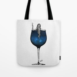 Wine night. Tote Bag