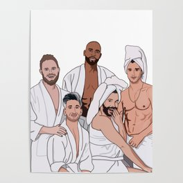 Queer Eye Fab 5 Poster